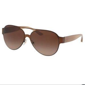 Tory Burch Accessories - 🆕 Tory Burch Aviator Gradient Brown Sunglasses